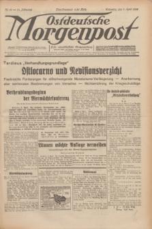 Ostdeutsche Morgenpost : erste oberschlesische Morgenzeitung. Jg.14, Nr. 96 (7 April 1932)