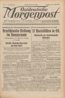 Ostdeutsche Morgenpost : erste oberschlesische Morgenzeitung. Jg.14, Nr. 97 (8 April 1932)