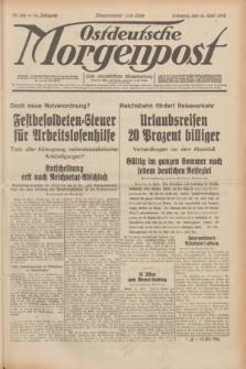 Ostdeutsche Morgenpost : erste oberschlesische Morgenzeitung. Jg.14, Nr. 104 (15 April 1932)