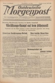 Ostdeutsche Morgenpost : erste oberschlesische Morgenzeitung. Jg.14, Nr. 111 (22 April 1932)