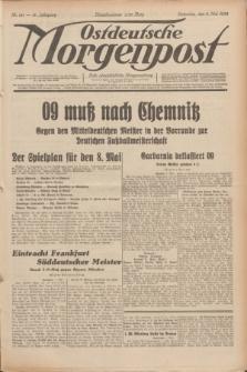 Ostdeutsche Morgenpost : erste oberschlesische Morgenzeitung. Jg.14, Nr. 121 (2 Mai 1932)