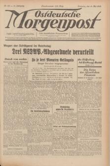 Ostdeutsche Morgenpost : erste oberschlesische Morgenzeitung. Jg.14, Nr. 133 (14 Mai 1932)