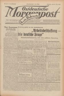 Ostdeutsche Morgenpost : erste oberschlesische Morgenzeitung. Jg.14, Nr. 147 (29 Mai 1932) + dod.