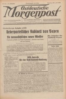Ostdeutsche Morgenpost : erste oberschlesische Morgenzeitung. Jg.14, Nr. 150 (1 Juni 1932)
