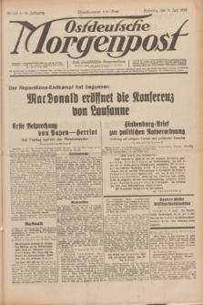 Ostdeutsche Morgenpost : erste oberschlesische Morgenzeitung. Jg.14, Nr. 166 (17 Juni 1932)
