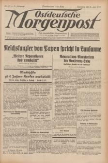 Ostdeutsche Morgenpost : erste oberschlesische Morgenzeitung. Jg.14, Nr. 167 (18 Juni 1932)