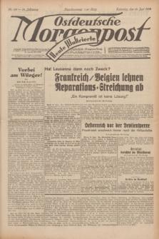 Ostdeutsche Morgenpost : erste oberschlesische Morgenzeitung. Jg.14, Nr. 168 (19 Juni 1932) + dod.