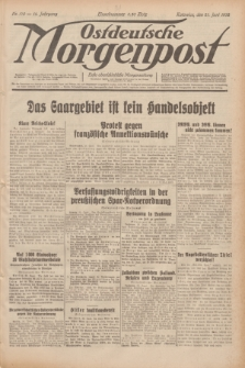 Ostdeutsche Morgenpost : erste oberschlesische Morgenzeitung. Jg.14, Nr. 170 (21 Juni 1932)