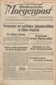 Ostdeutsche Morgenpost : erste oberschlesische Morgenzeitung. Jg.14, Nr. 190 (11 Juli 1932)