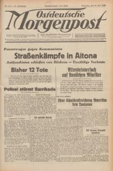 Ostdeutsche Morgenpost : erste oberschlesische Morgenzeitung. Jg.14, Nr. 197 (18 Juli 1932)