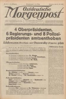 Ostdeutsche Morgenpost : erste oberschlesische Morgenzeitung. Jg.14, Nr. 201 (22 Juli 1932)