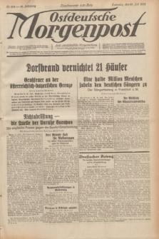 Ostdeutsche Morgenpost : erste oberschlesische Morgenzeitung. Jg.14, Nr. 204 (25 Juli 1932)