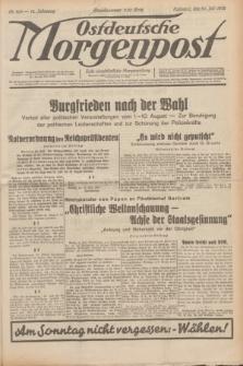 Ostdeutsche Morgenpost : erste oberschlesische Morgenzeitung. Jg.14, Nr. 209 (30 Juli 1932)