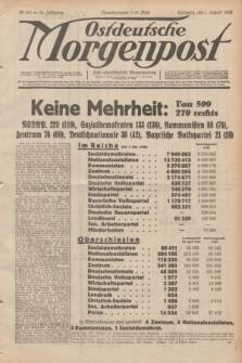 Ostdeutsche Morgenpost : erste oberschlesische Morgenzeitung. Jg.14, Nr. 211 (1 August 1932)