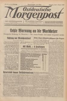Ostdeutsche Morgenpost : erste oberschlesische Morgenzeitung. Jg.14, Nr. 212 (2 August 1932)