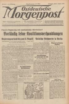 Ostdeutsche Morgenpost : erste oberschlesische Morgenzeitung. Jg.14, Nr. 213 (3 August 1932)
