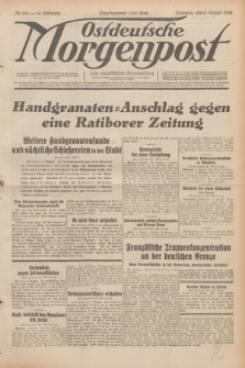 Ostdeutsche Morgenpost : erste oberschlesische Morgenzeitung. Jg.14, Nr. 218 (8 August 1932)