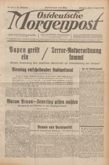 Ostdeutsche Morgenpost : erste oberschlesische Morgenzeitung. Jg.14, Nr. 219 (9 August 1932)