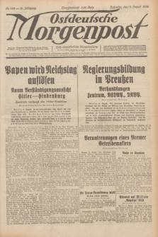 Ostdeutsche Morgenpost : erste oberschlesische Morgenzeitung. Jg.14, Nr. 222 (12 August 1932)