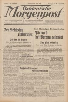 Ostdeutsche Morgenpost : erste oberschlesische Morgenzeitung. Jg.14, Nr. 229 (19 August 1932)