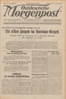 Ostdeutsche Morgenpost : erste oberschlesische Morgenzeitung. Jg.14, Nr. 230 (20 August 1932)