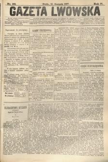 Gazeta Lwowska. 1887, nr181