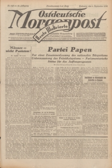 Ostdeutsche Morgenpost : erste oberschlesische Morgenzeitung. Jg.14, Nr. 245 (4 September 1932) + dod.