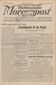 Ostdeutsche Morgenpost : erste oberschlesische Morgenzeitung. Jg.14, Nr. 252 (11 September 1932) + dod.
