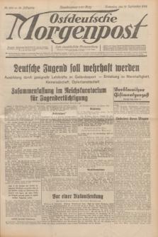 Ostdeutsche Morgenpost : erste oberschlesische Morgenzeitung. Jg.14, Nr. 256 (15 September 1932)