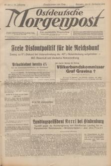 Ostdeutsche Morgenpost : erste oberschlesische Morgenzeitung. Jg.14, Nr. 261 (20 September 1932)
