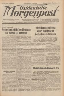 Ostdeutsche Morgenpost : erste oberschlesische Morgenzeitung. Jg.14, Nr. 263 (22 September 1932)