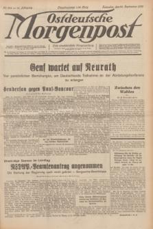 Ostdeutsche Morgenpost : erste oberschlesische Morgenzeitung. Jg.14, Nr. 264 (23 September 1932)