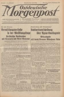 Ostdeutsche Morgenpost : erste oberschlesische Morgenzeitung. Jg.14, Nr. 265 (24 September 1932)