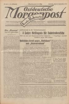 Ostdeutsche Morgenpost : erste oberschlesische Morgenzeitung. Jg.14, Nr. 266 (25 September 1932) + dod.