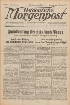 Ostdeutsche Morgenpost : erste oberschlesische Morgenzeitung. Jg.14, Nr. 269 (28 September 1932)