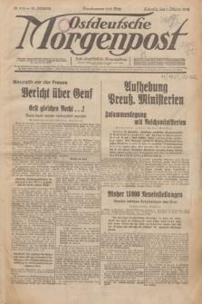 Ostdeutsche Morgenpost : erste oberschlesische Morgenzeitung. Jg.14, Nr. 272 (1 Oktober 1932)