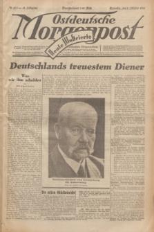 Ostdeutsche Morgenpost : erste oberschlesische Morgenzeitung. Jg.14, Nr. 273 (2 Oktober 1932) + dod.