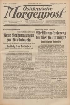 Ostdeutsche Morgenpost : erste oberschlesische Morgenzeitung. Jg.14, Nr. 276 (5 Oktober 1932)