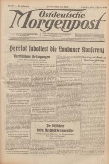 Ostdeutsche Morgenpost : erste oberschlesische Morgenzeitung. Jg.14, Nr. 277 (6 Oktober 1932)