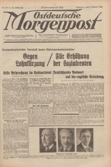 Ostdeutsche Morgenpost : erste oberschlesische Morgenzeitung. Jg.14, Nr. 279 (8 Oktober 1932)