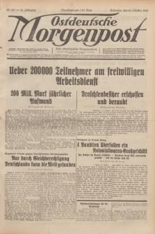 Ostdeutsche Morgenpost : erste oberschlesische Morgenzeitung. Jg.14, Nr. 281 (10 Oktober 1932)