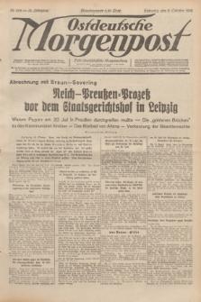 Ostdeutsche Morgenpost : erste oberschlesische Morgenzeitung. Jg.14, Nr. 282 (11 Oktober 1932)