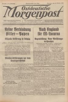 Ostdeutsche Morgenpost : erste oberschlesische Morgenzeitung. Jg.14, Nr. 283 (12 Oktober 1932)