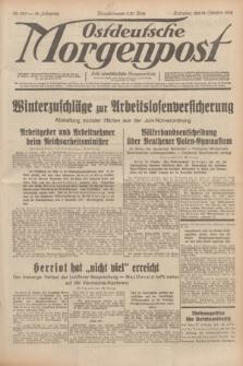 Ostdeutsche Morgenpost : erste oberschlesische Morgenzeitung. Jg.14, Nr. 285 (14 Oktober 1932)