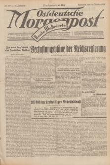 Ostdeutsche Morgenpost : erste oberschlesische Morgenzeitung. Jg.14, Nr. 287 (16 Oktober 1932) + dod.