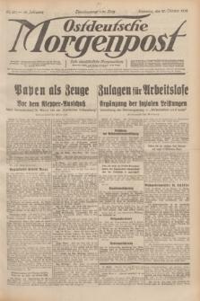 Ostdeutsche Morgenpost : erste oberschlesische Morgenzeitung. Jg.14, Nr. 291 (20 Oktober 1932)