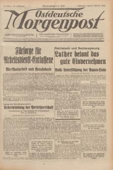 Ostdeutsche Morgenpost : erste oberschlesische Morgenzeitung. Jg.14, Nr. 292 (21 Oktober 1932)