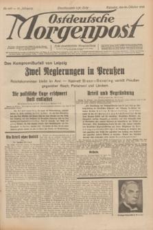 Ostdeutsche Morgenpost : erste oberschlesische Morgenzeitung. Jg.14, Nr. 297 (26 Oktober 1932)