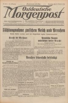 Ostdeutsche Morgenpost : erste oberschlesische Morgenzeitung. Jg.14, Nr. 298 (27 Oktober 1932)