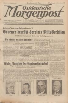 Ostdeutsche Morgenpost : erste oberschlesische Morgenzeitung. Jg.14, Nr. 303 (1 November 1932)